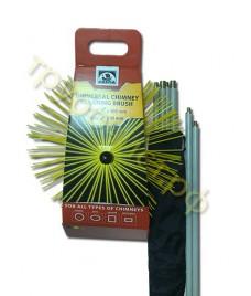 Комплект инструмента для чистки дымоходов